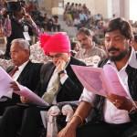eminent dignitaries present at the event.