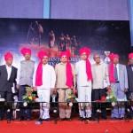 dignitaries on the dias